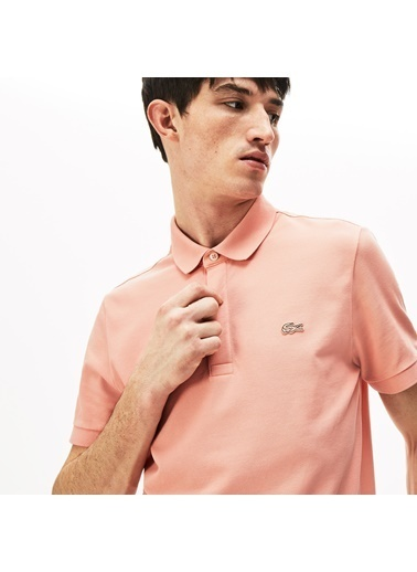 Lacoste Erkek Regular Fit Tişört PH5522.5MM Pembe